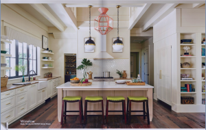 kitchen-cabinets-in-woodstock-ga-cream-kitchen-blush-island-lime-seat cushions