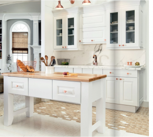 white-kitchen-cabinets-island-Woodstock-ga